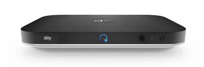 Sky Q 2TB Set Top Box Front