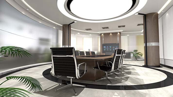 Super Modern Office Boardroom Design