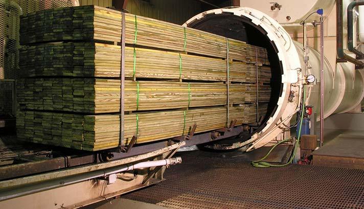 Pressure Treated Timbers