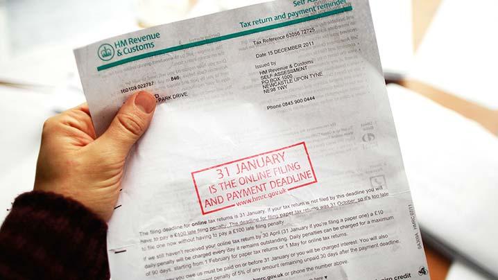 HMRC Payment Deadline Letter
