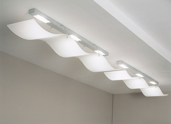 Modern Wavy Ceiling Lights