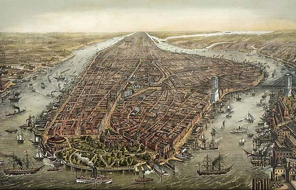 New York-City 17th Century