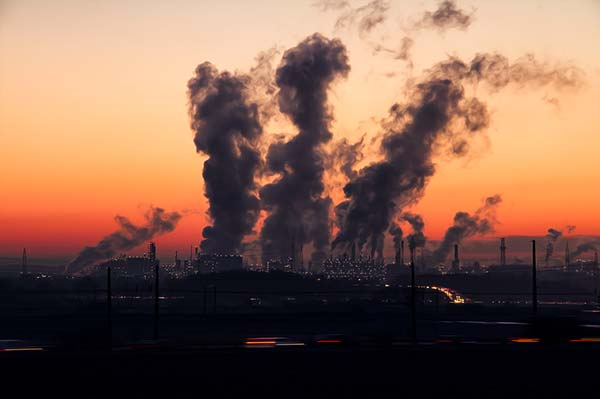 Pollution from Industrial Chimneys