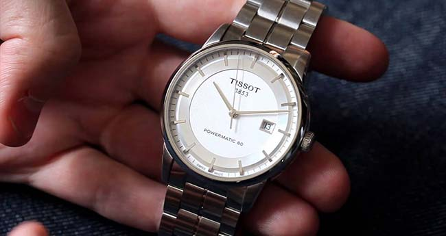 Tissot Luxury Automatic Silver Dial