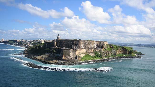 Coastline of Puerto Rico