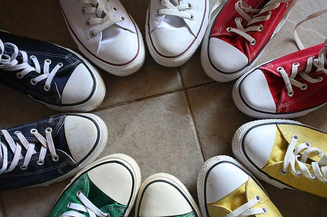 Converse All Stars in Different Colours