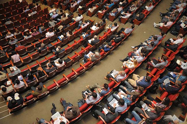 Audience in Auditorium
