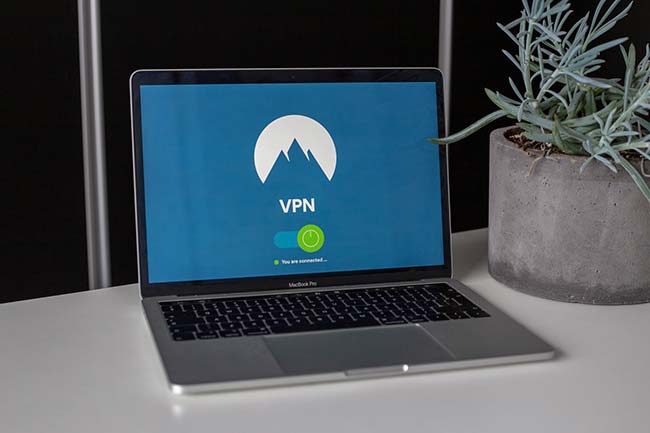 Macbook Running Nord VPN