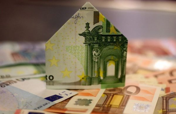 Money Shaped as a House