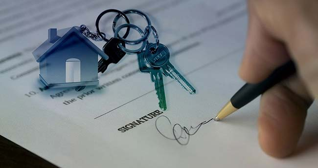 Signing Property Title Document