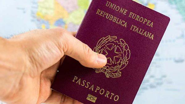 Holding Italian Passport
