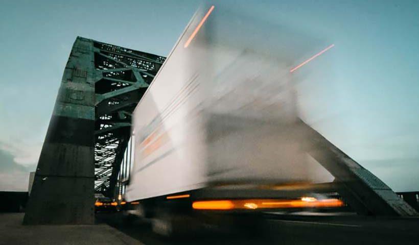Removals Truck En Route