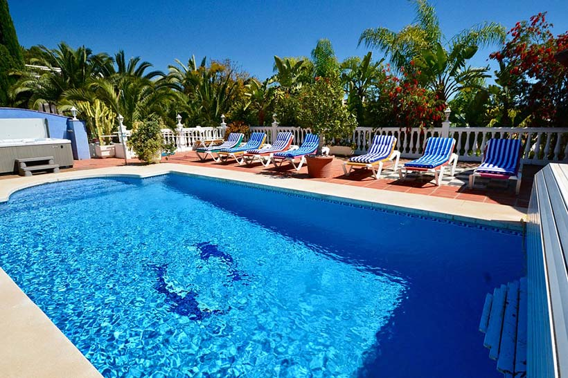 Spanish Villa Poolside