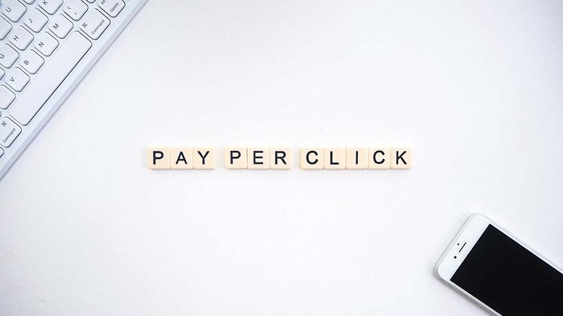 Pay Per Click Scrabble Letters