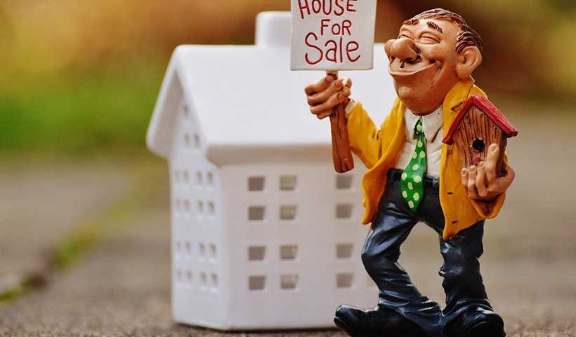 Real Estate Agent Figurine