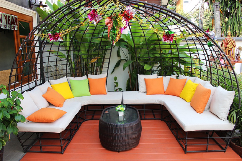 Colourful Patio Furniture