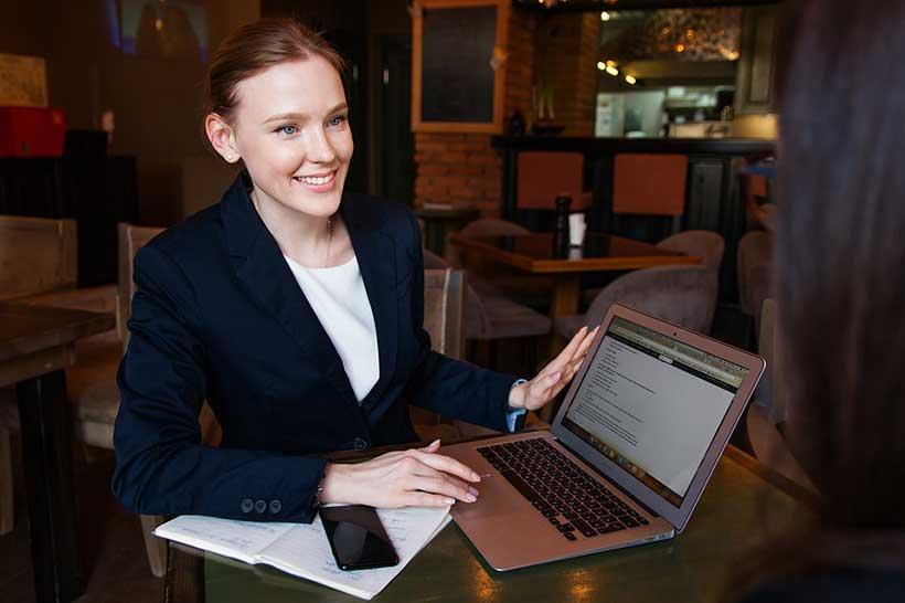 Female Financial Adviser