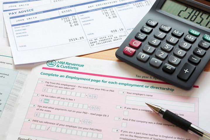 HMRC Self Assessment Tax Form