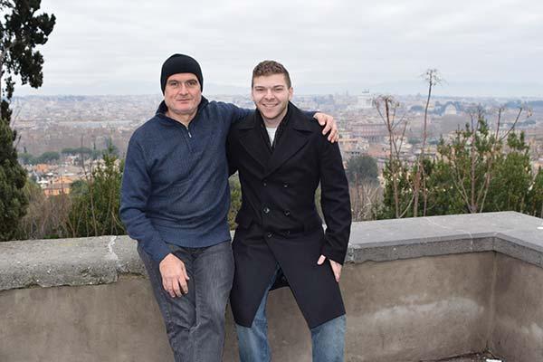 Anthony & Raffaele, Rome