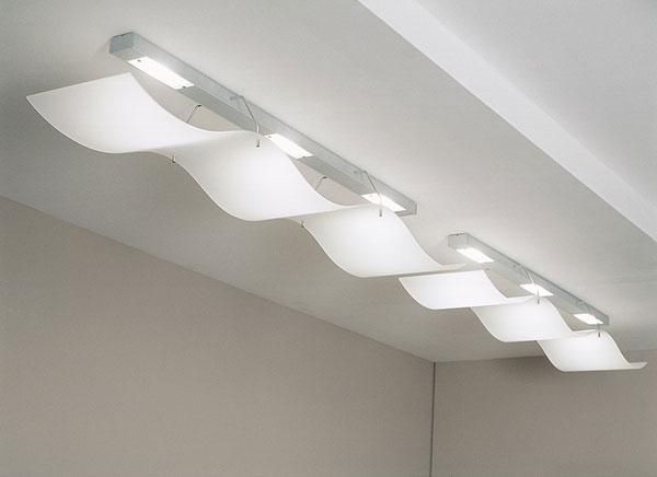 Modern Wavy Ceiling Lights