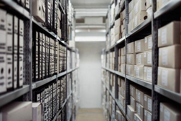 Organised Storage Shelves