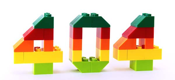 404 Error Lego