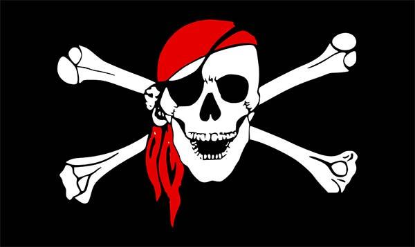 Pirate Skull Crossbones