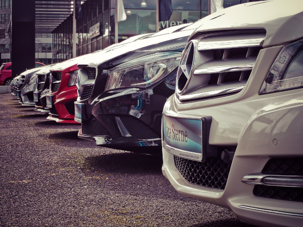 Front Grilles of Mercedes Benz Cars