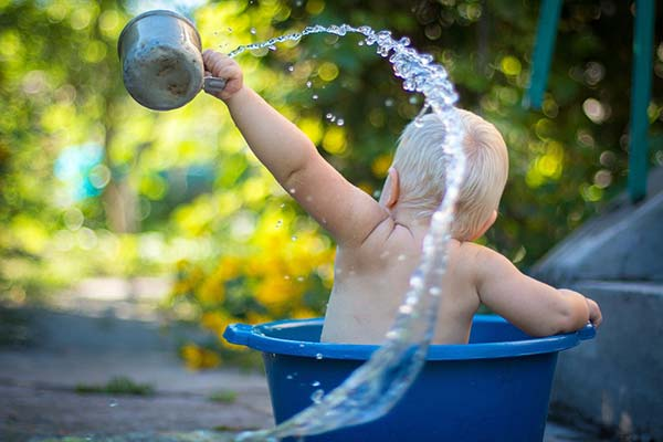 Baby Fun Bath Time