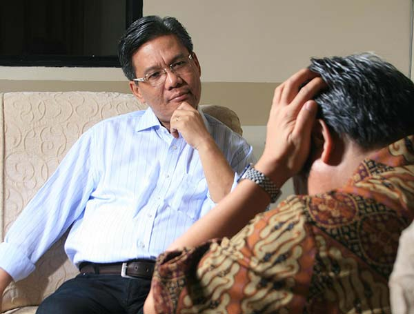 Counsellor Listening to Client