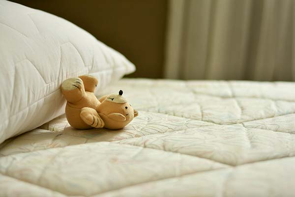 Cuddly Toy on Mattress