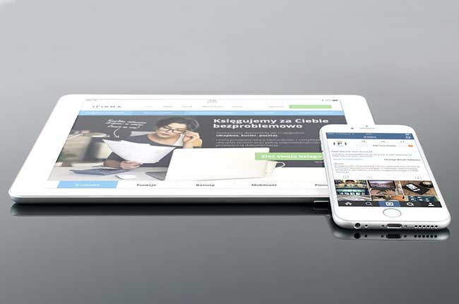 White iPad & iPhone