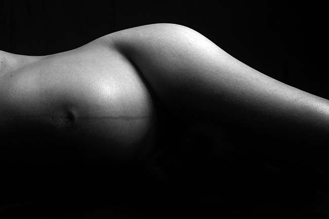 Artistic Image of Pregnant Woman