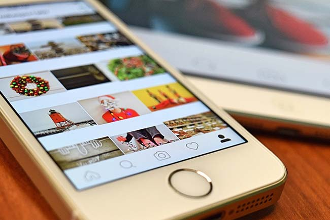 Instagram Feed on iPhone