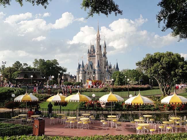 Disneyland Castle Florida