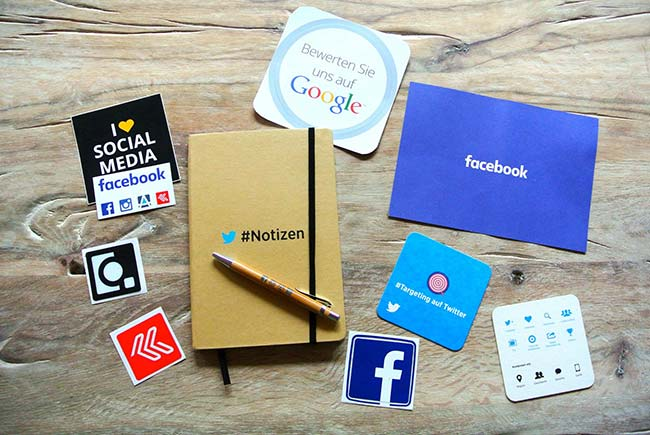Major Social Media Brands