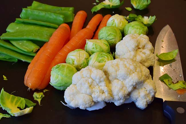 Selection of Healthy Vegetables