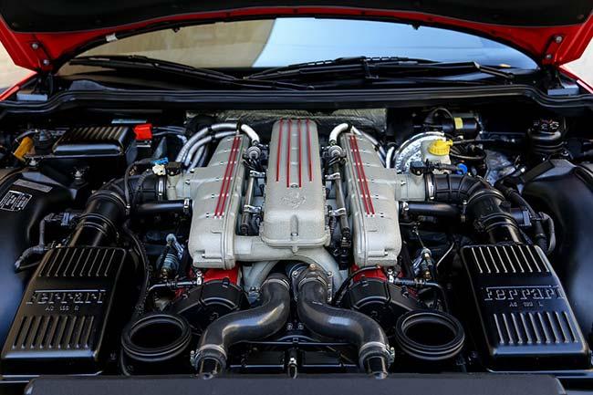 Under Ferrari Bonnet