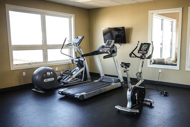 Cross-trainer, Treadmill and Exercise Bike