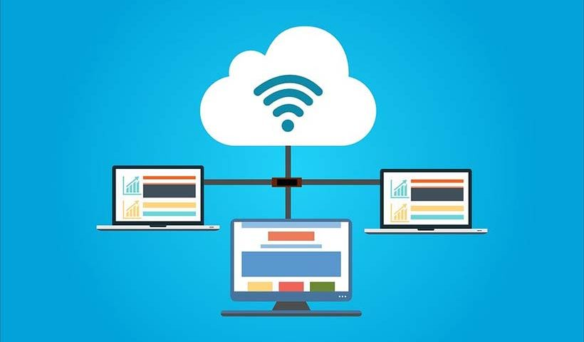Cloud Hosting Diagram