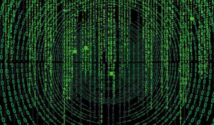 Matrix Style Code Data