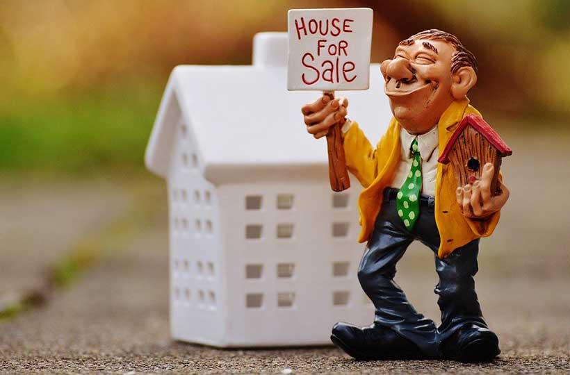 Real Estate Agent Figurine