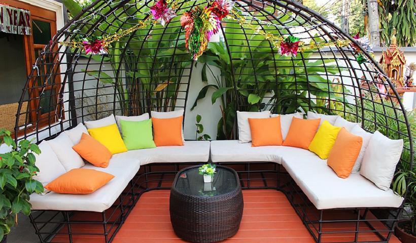 Colourful Patio Furniture