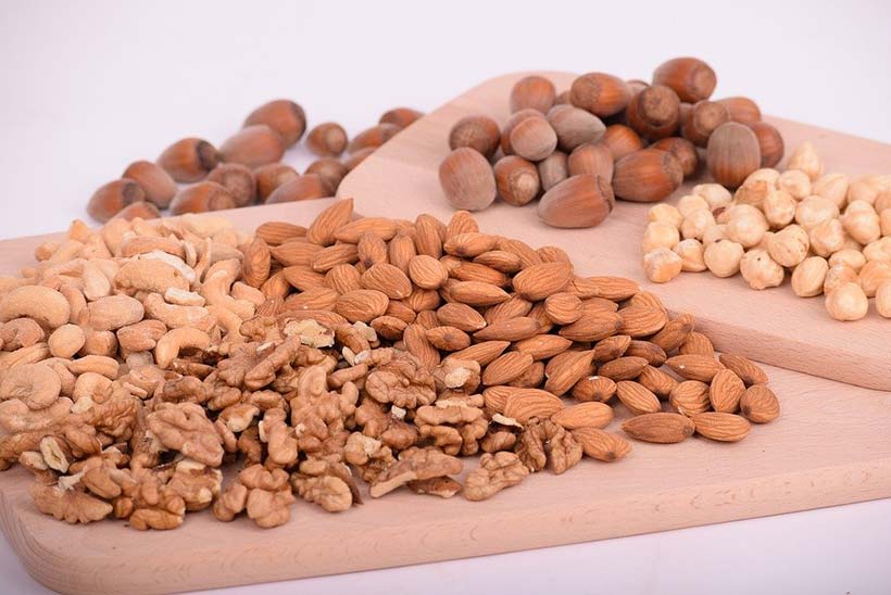 Variety of Nuts & Seeds