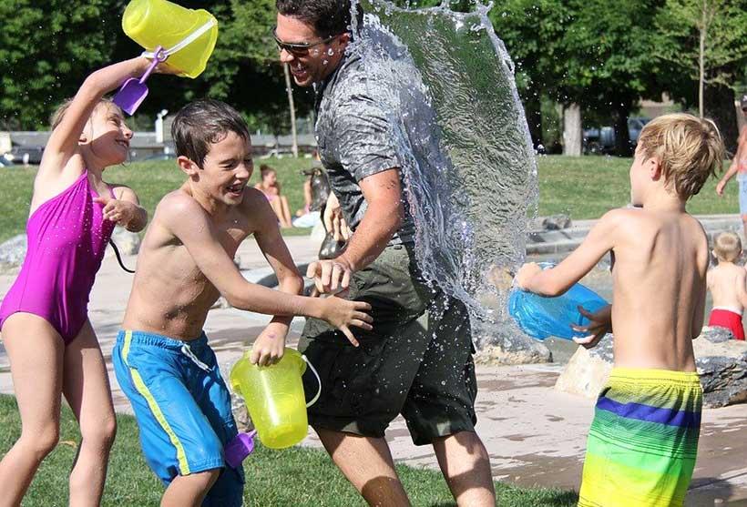 Childrens Waterfight