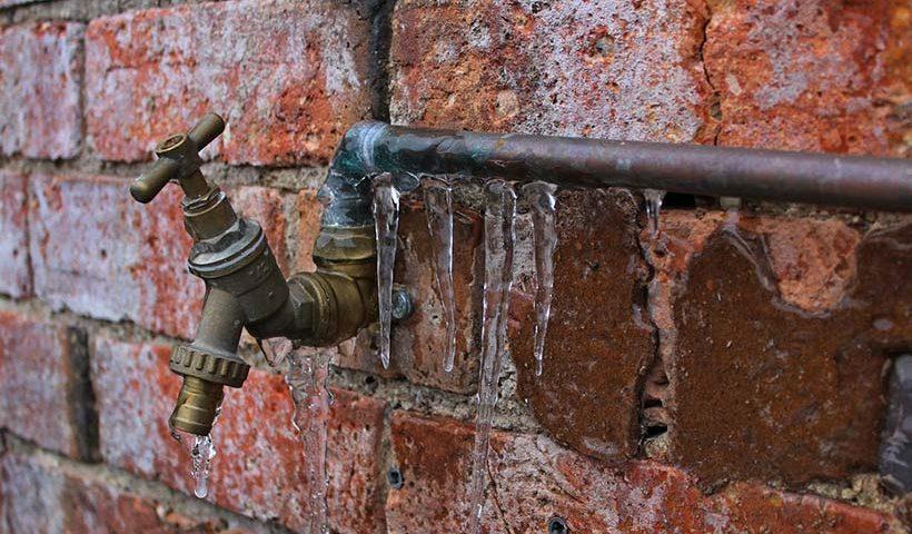 Frozen Exterior Tap