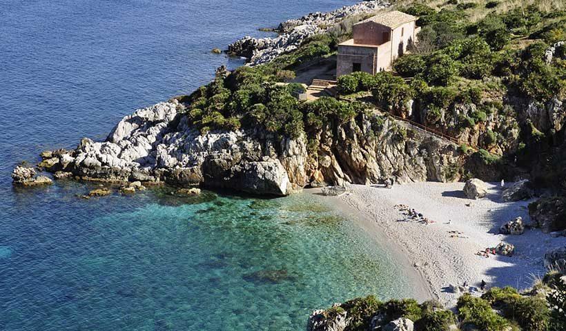 Small Beach in Sicily