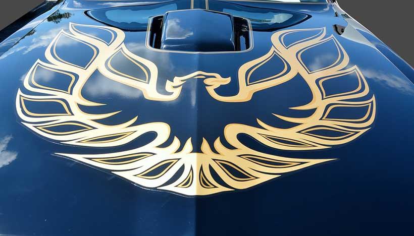 Firebird Car Decal