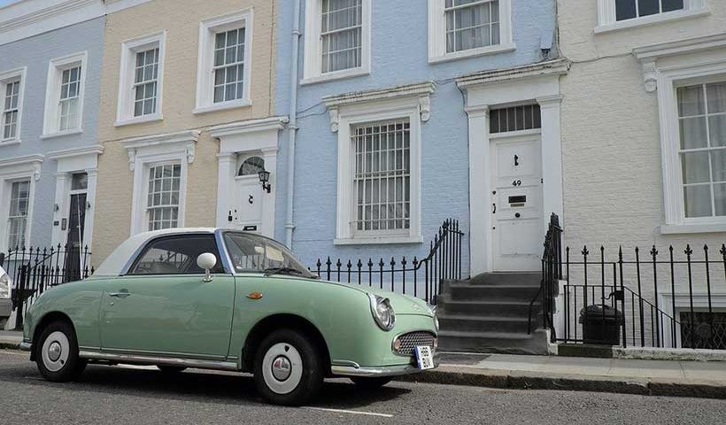 Car Parked on Notting Hill Street